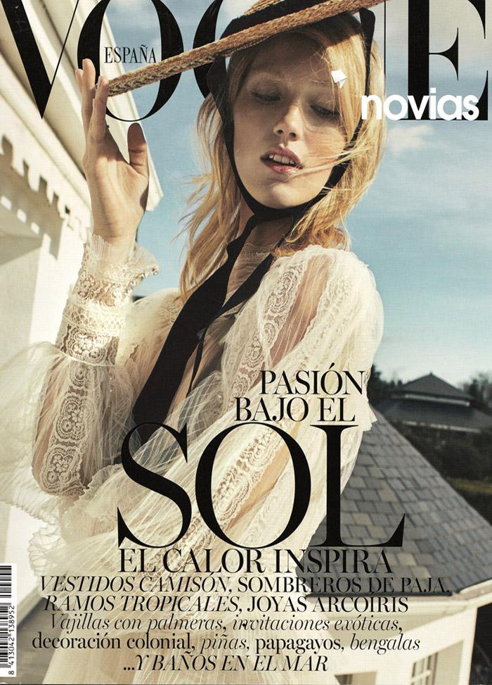 Publicación en Vogue novias