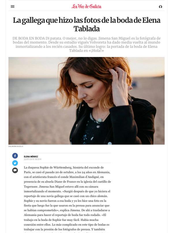 lavozdegalicia.es – 22.01.2019